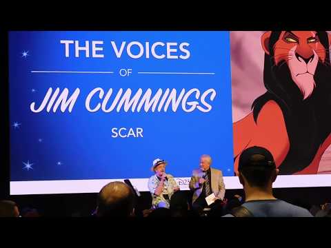 Jim Cummings @ D23 2017
