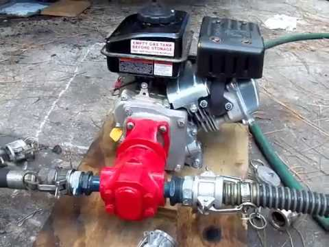 US Filtermaxx Portable Gas and Electric Oil Transfer WVO Pumps in action!