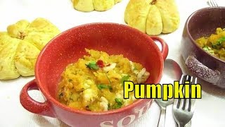 Shrimps With Stewed Pumpkin   Good and Tasty   Italian Food #healthyrecipes #pumpkin