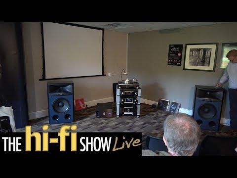 Mark Levinson JBL Synthesis Studio Speakers Torus Karma AV Room @ Hi-Fi Show Live 2017
