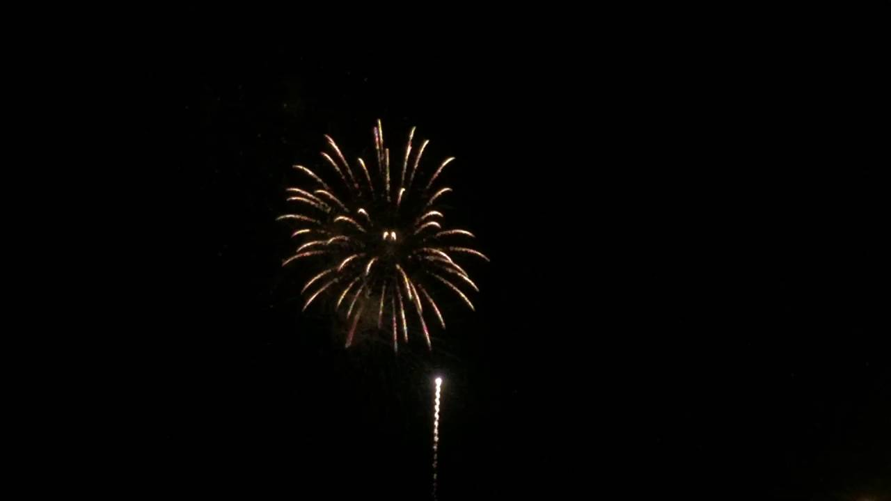 south padre island fireworks 2016 july youtube