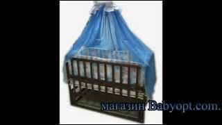 Видео обзор кроватки маятник