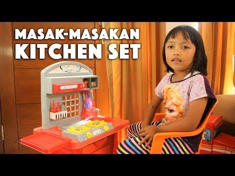 Chef Pixel Main Masak-Masakan - Kitchen Set anak-anak