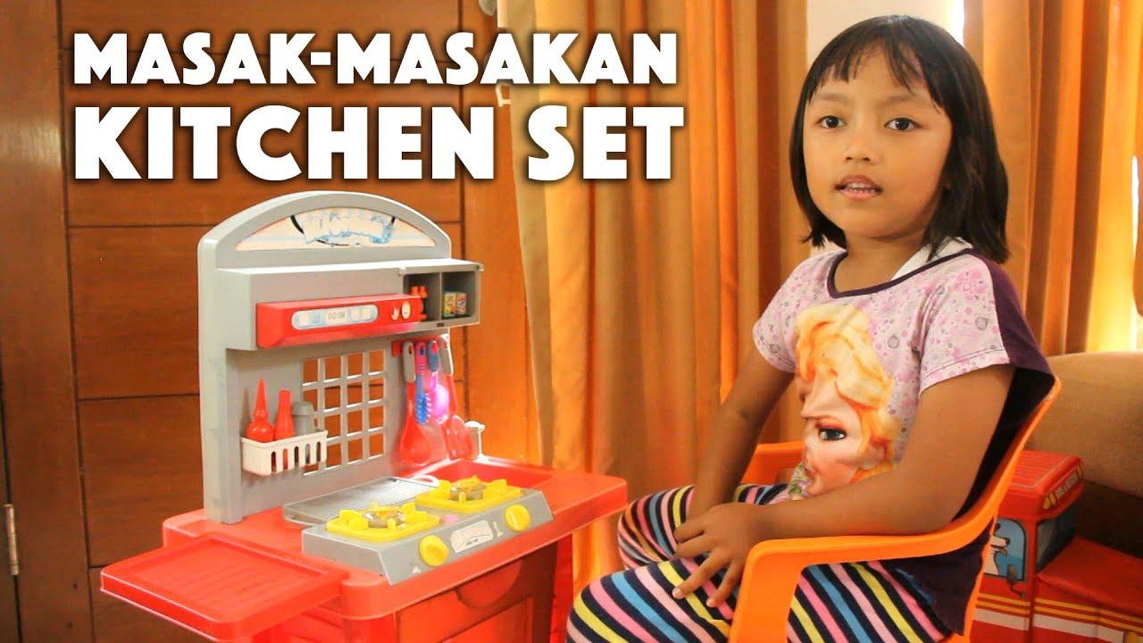 Chef Pixel Main Masak Masakan Kitchen Set Anak Anak Youtube