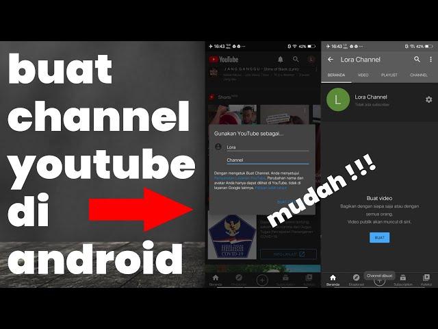 Cara Mudah Buat Youtube Channel Di Android