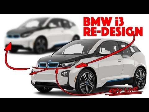 BMW i3 Re-design - This ONE line changes everything!