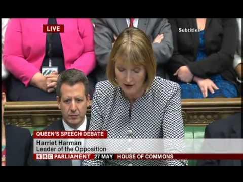 Harriet Harman responds to Queen's Speech 2015