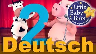 Nummer 2 Lied | Kinderlieder | LittleBabyBum