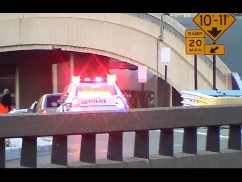 Port Authority Police Department NY & New Jersey cruisers at Newark Intl. (comp.) [NJ | 7/2013]