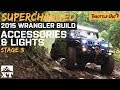 Supercharged 2015 Jeep Hits Trails with Lights!