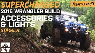 Supercharged 2015 Jeep Hits Trails With Lights! – Extremeterrain.com