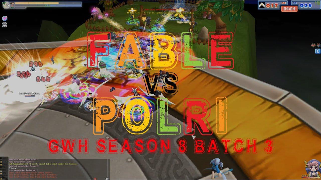 GWH S8 B3 Fable vs POLRI - Seal Online IndoRPG