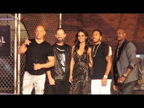 Fast & Furious SUPERCHARGED Grand Opening Celebration Moment W/ Vin Diesel & MORE, Universal Orlando