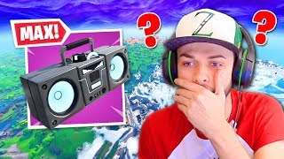*MAX* BOOMBOX vs Fortnite Map = ???