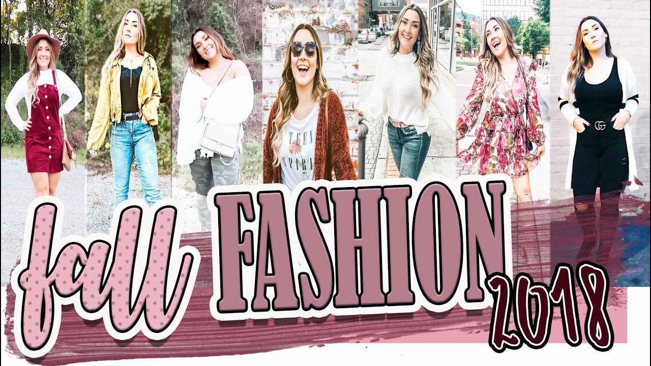 8 FALL OUTFITS YOU CAN WEAR NOW: Fall Lookbook 2018