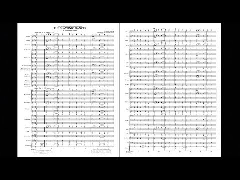 Slavonic Dance by Antonín Dvorák/arranged by James Curnow
