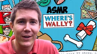 ASMR Soft Spoken Male Voice | Where's Wally / Waldo | Relaxation, Searching and Tapping