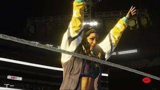 WWE 2K19 - Scarlett Bordeaux VS Bayley