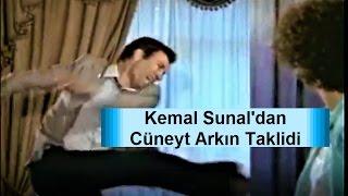 Kemal Sunal Cüneyt Arkın Taklidi çok Komik|YeşilÇam TR