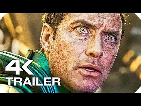 КАПИТАН МАРВЕЛ ✩ Трейлер #1 (MARVEL, 4K ULTRA HD) НОВЫЙ 2019