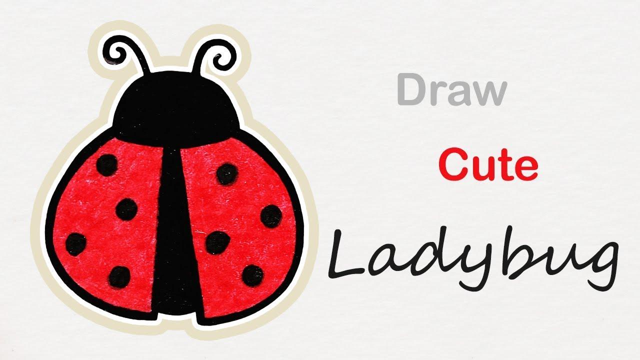 Ladybug drawings for kids - photo#48