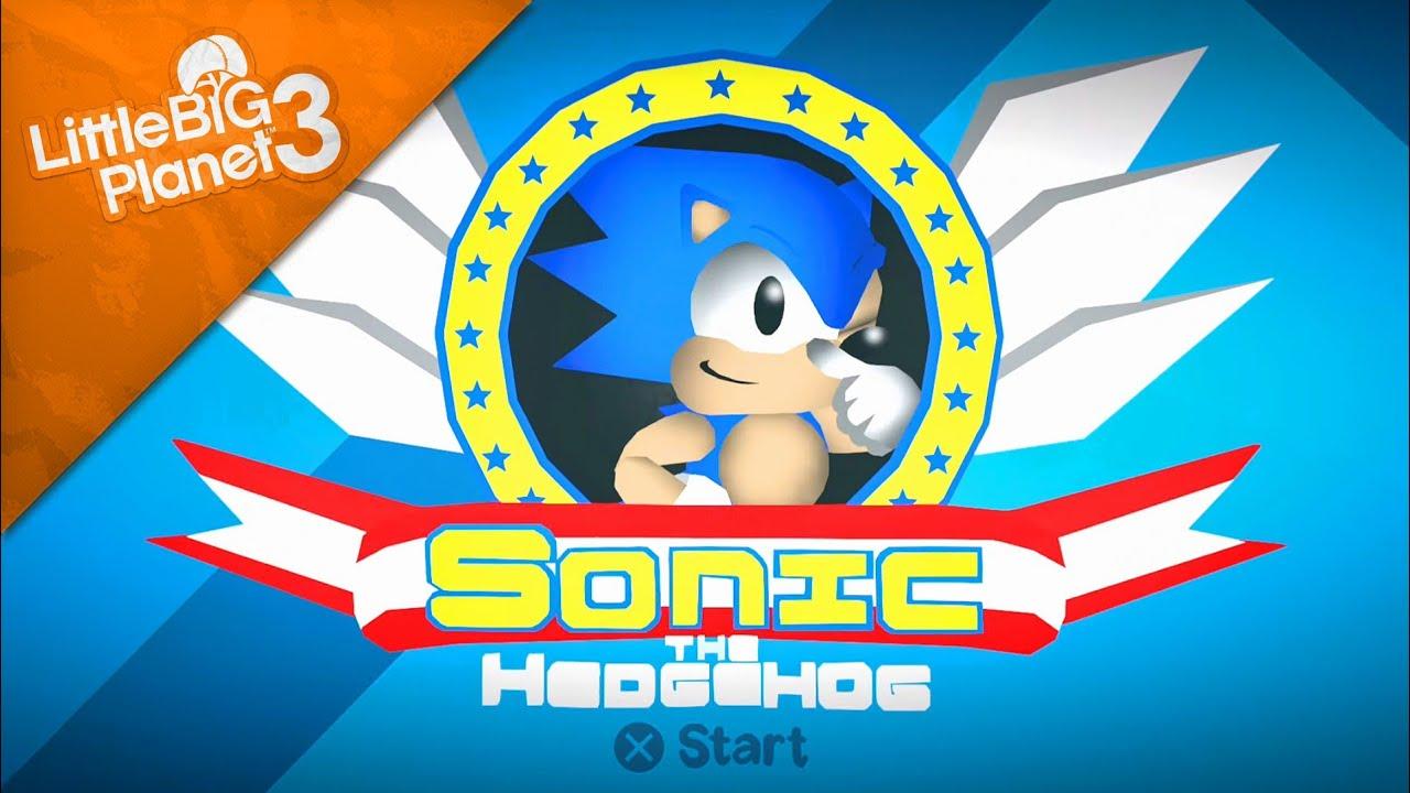 LittleBigPlanet 3 - Sonic The Hedgehog