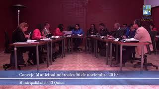 Concejo municipal miércoles 06 noviembre 2019 (parte 2)