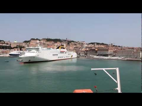 Departure from Ancona Italy [720p]