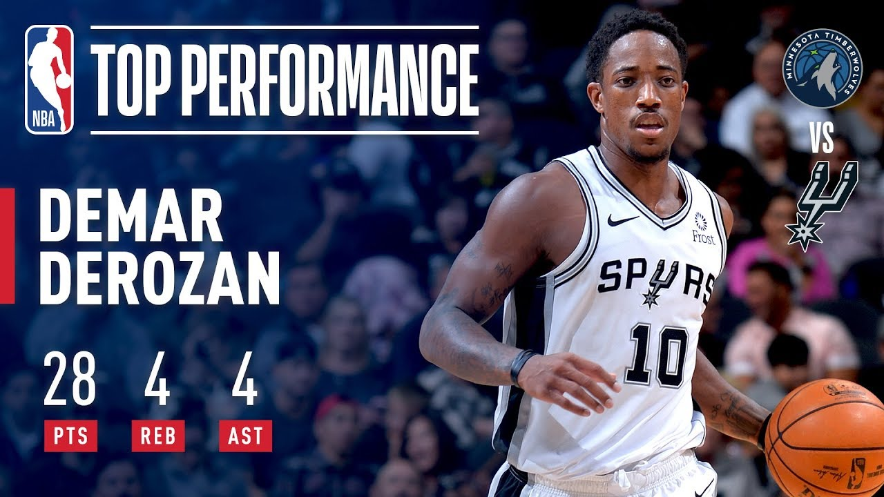 demar-derozan-season-debut-with-the-san-antonio-spurs-october-17-2018