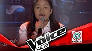 "The Voice Kids Philippines Blind Audition ""Empire State of Mind"" by Khen"
