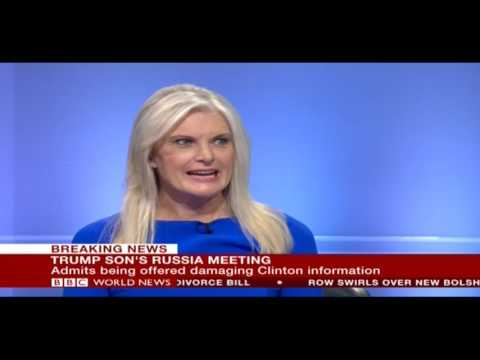 Mica Mosbacher on BBC World News Trump Son Russia Meeting