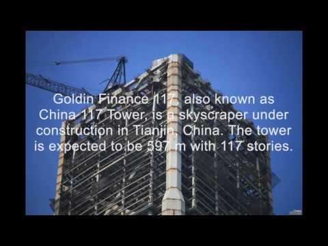 UPDATE!! TIANJIN | Goldin Finance 117 | 597m | 1957ft | 128 fl | July 2017