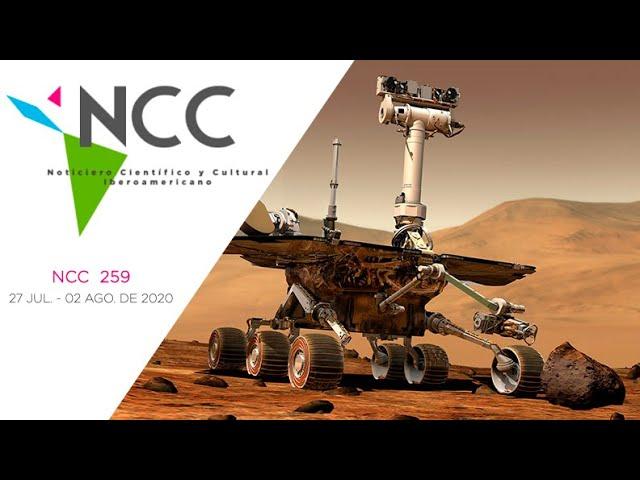 Noticiero Científico y Cultural Iberoamericano, emisión 259. 27 de Julio  al 02 de Agosto 2020