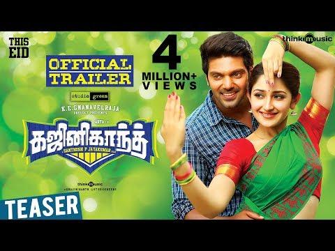 ghajinikanth-official-trailer-|-arya,-sayyeshaa-|-balamurali-balu-|-santhosh-p-jayakumar