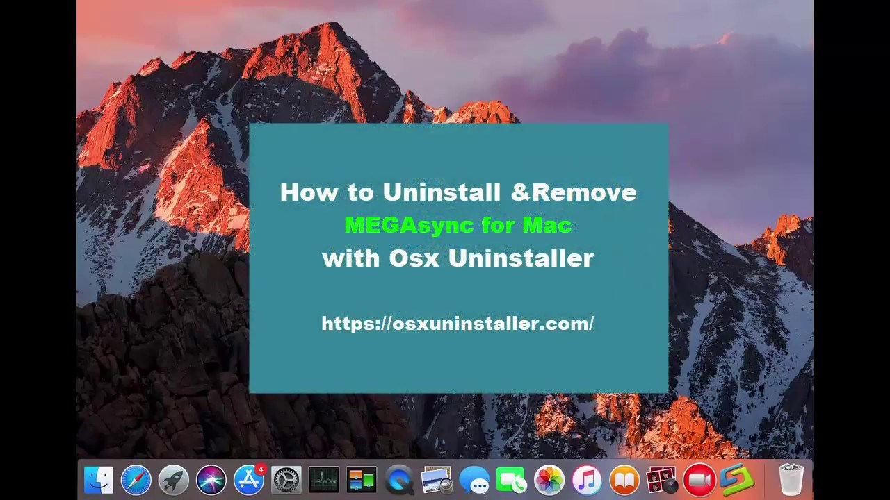 Best idea to Uninstall MEGAsync for Mac—Removal Guides