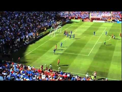 Spain vs El Salvador (2:0) David Villa  1st Goal