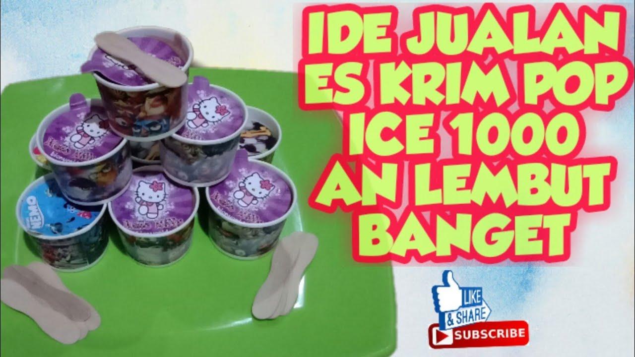 IDE JUALAN ES KRIM POP ICE SERIBUAN - YouTube