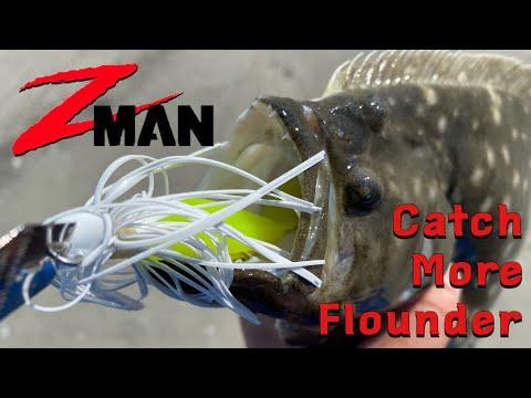 Flounder Secret Weapon - Zman Chatterbait 101