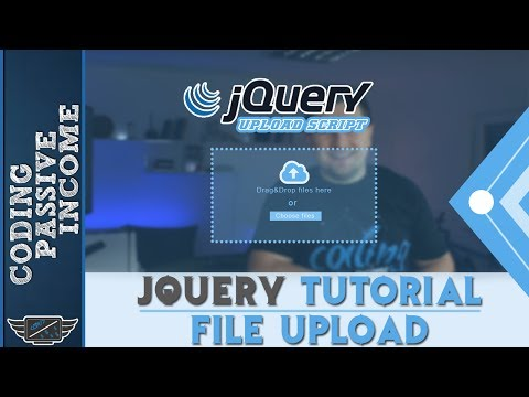 JQuery Tutorial - File Upload With JQuery & Ajax & PHP - Drag And Drop