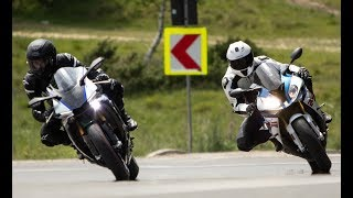 BMW S1000RR vs. Yamaha R1M | Review - Best Streetbike
