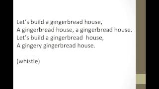 Let's Build a Gingerbread House