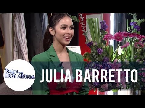 Julia wears Darna's iconic bra as she reenacts her audition for the role | TWBA