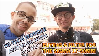 Buying a Lens Filter at Hi-tech Wonder and Vlog with Arcary Art (29-09-2020)