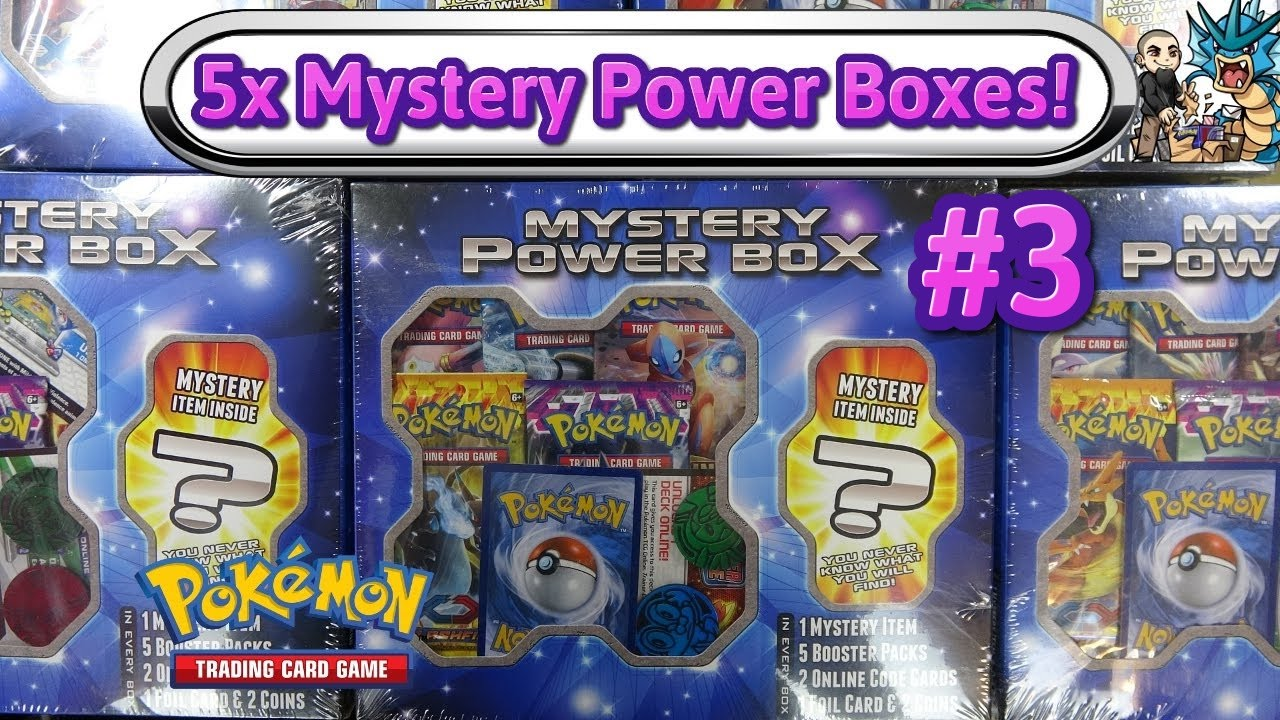 8cc229bf6d Opening 5x Mystery Power 1 Walmart Boxes #3! Pokemon TCG unboxing - YouTube