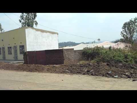 Malawi - driving from Chileka airport into Blantyre