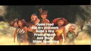"The Croods - Owl City and Yuna ""Shine Your Way"" Lyric Video"