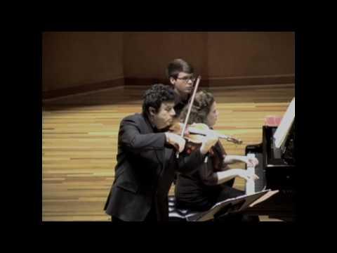 Sergiu Schwartz - Brahms Violin Sonata No. 3, I Allegro