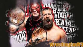 WWE 2013- Team Hell No Theme Song- (Veil of fire)