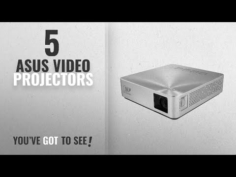 Top 10 Asus Video Projectors [2018]: ASUS S1 200 lumen HDMI/MHL Built-in 6,000mAh Battery Power Bank