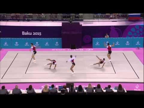 JJEE Baku - Aeróbic - F - Group France